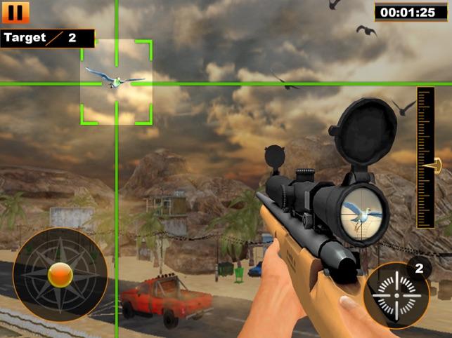 Bird Hunter Sniper Shooter, game for IOS