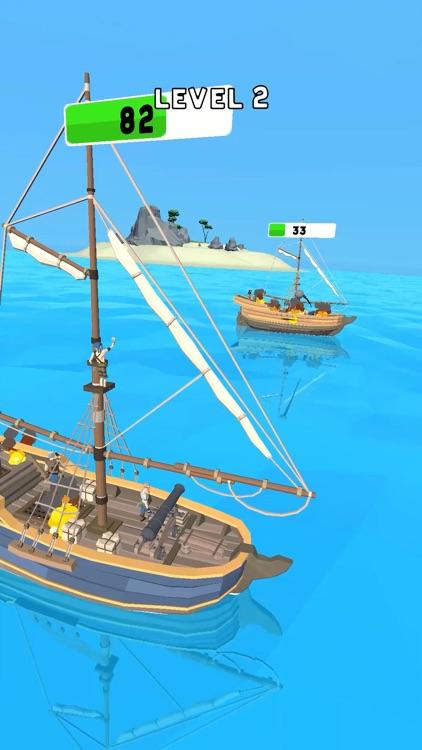 Pirate Attack: Sea Battle screenshot-3