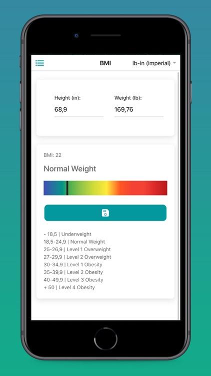 BMI Calculator for Women & Men screenshot-3