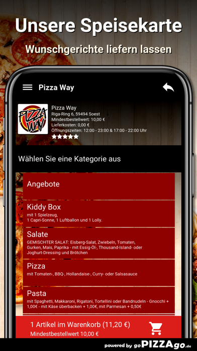 Pizza Way Soest screenshot 4