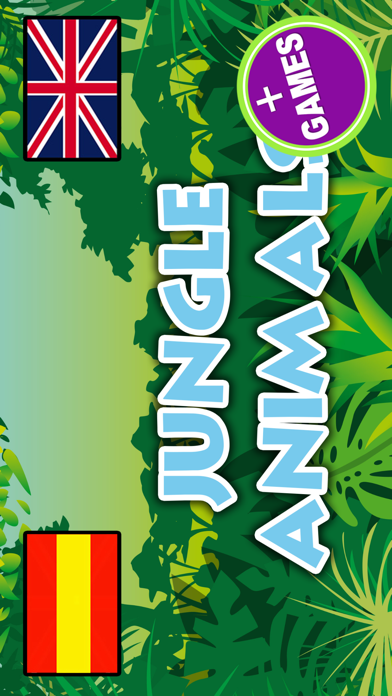 Jungle Animals · name & sound screenshot one