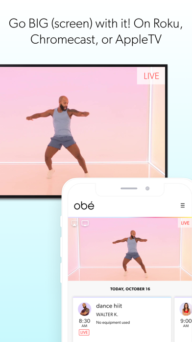 obé Fitness: Live & On-Demand Screenshot
