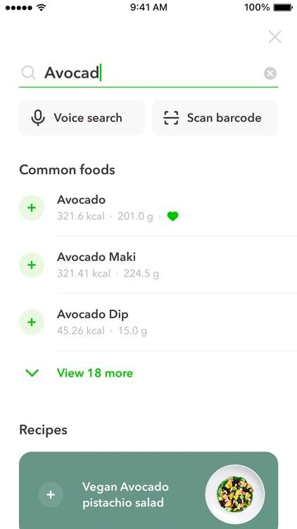Diet & Meal Planner by GetFit screenshot-7