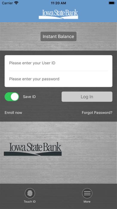 Iowa State Bank Mobile BankingScreenshot of 2