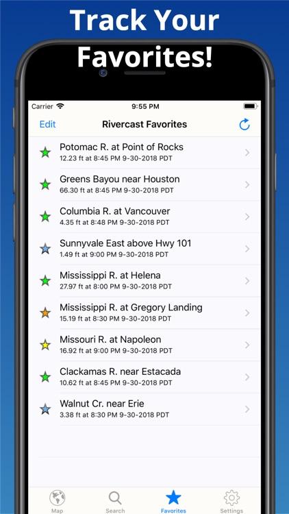 Rivercast - Levels & Forecasts screenshot-5