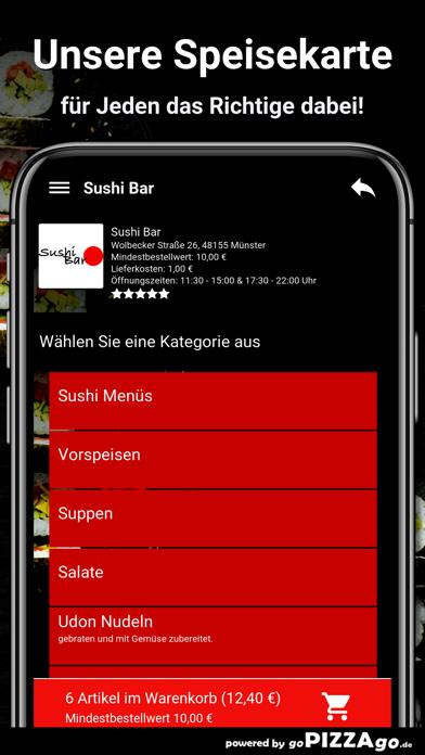 Sushi Bar Münster screenshot 4