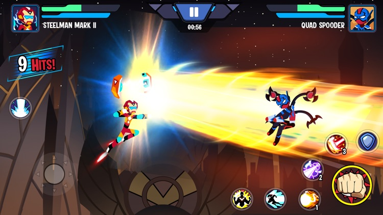 Stickman Heroes Fight screenshot-3