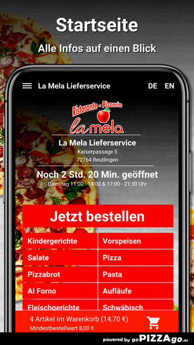 La Mela Reutlingen screenshot 2
