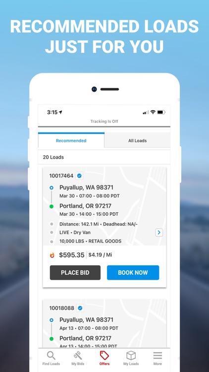 Drive XPO: Find & Book Loads screenshot-0