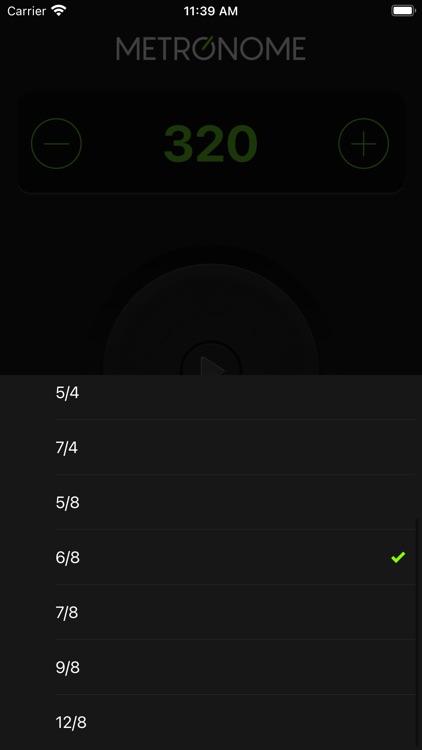Pro Metronome by Appsnemo screenshot-4