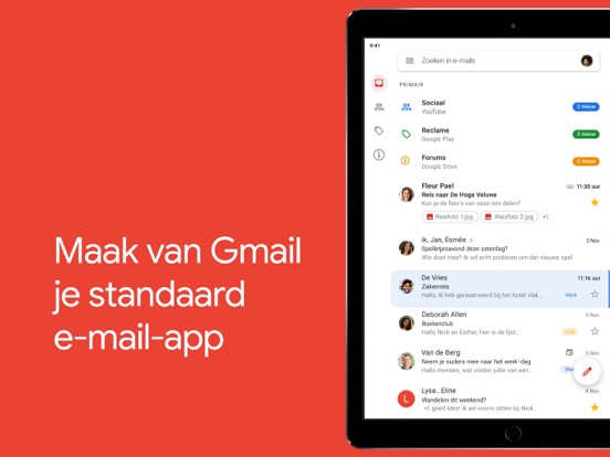 Gmail - E-mail van Google