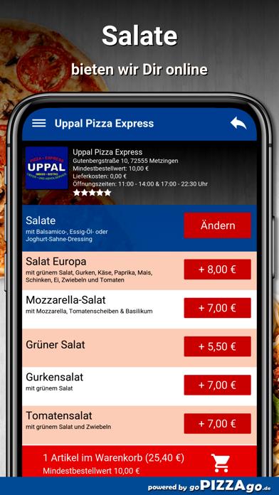 Uppal Pizza Express Metzingen screenshot 5