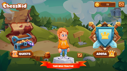 Chess Adventure for Kids screenshot 2