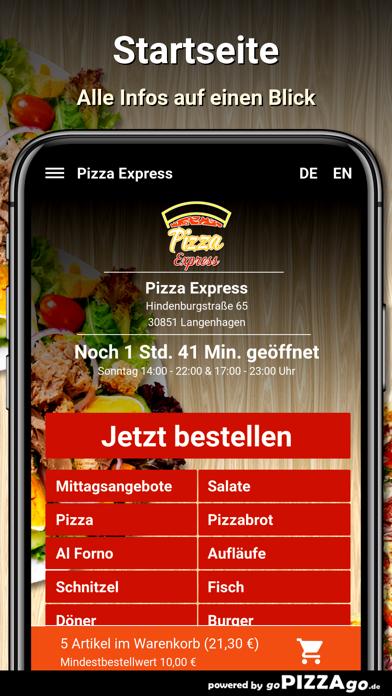Pizza Express Langenhagen screenshot 2