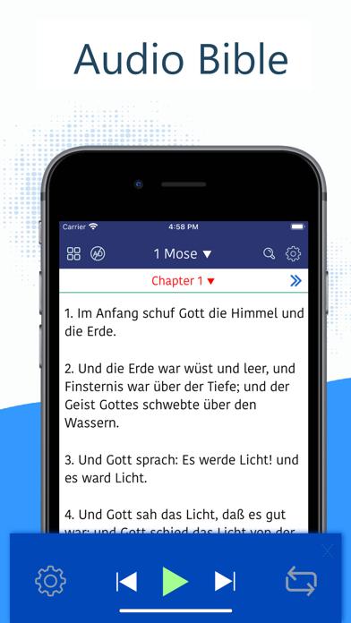 Deutsch Luther Bibel 1912 Pro iphone captures décran