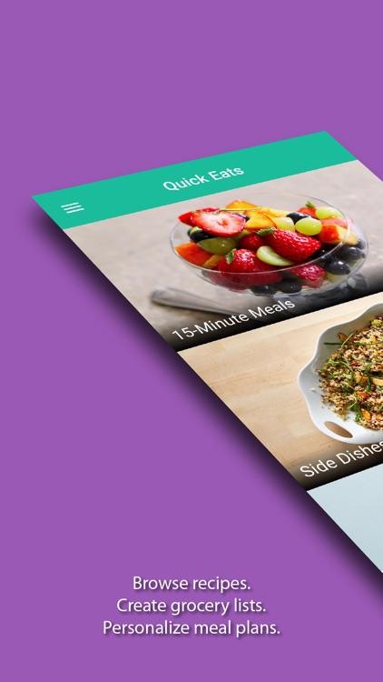 Quick Eats - Fast Recipes