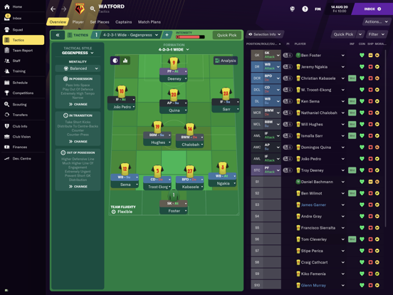 Football Manager 2021 Touch screenshot 2
