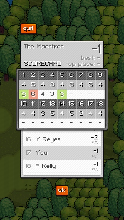Pixel Pro Golf screenshot-1