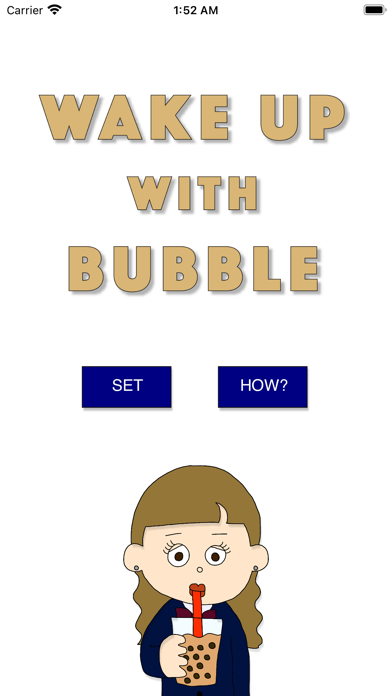 Wake Up with Bubble紹介画像1