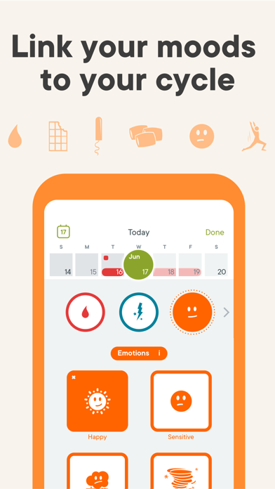 Clue: Period, PMS, fertility & ovulation tracker screenshot