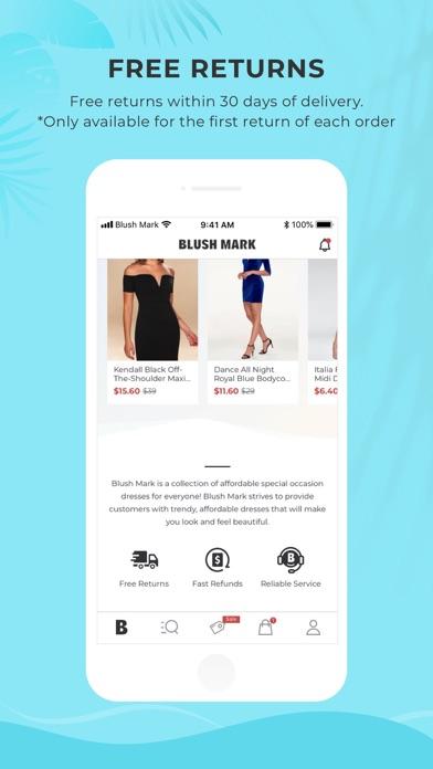 Blush Mark: Women's Clothing screenshot 5