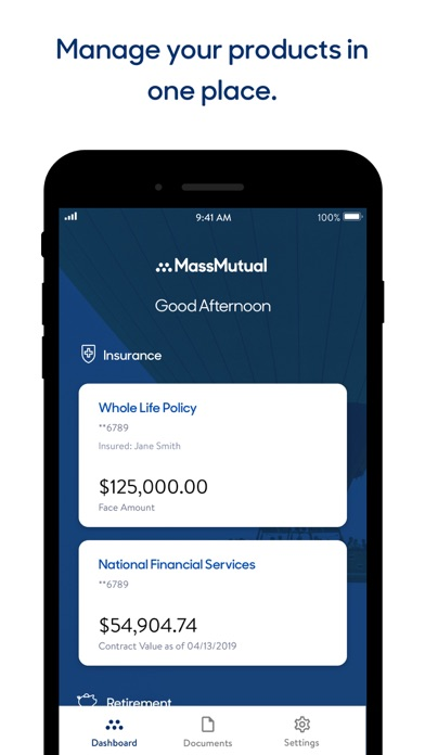 messages.download MassMutual software