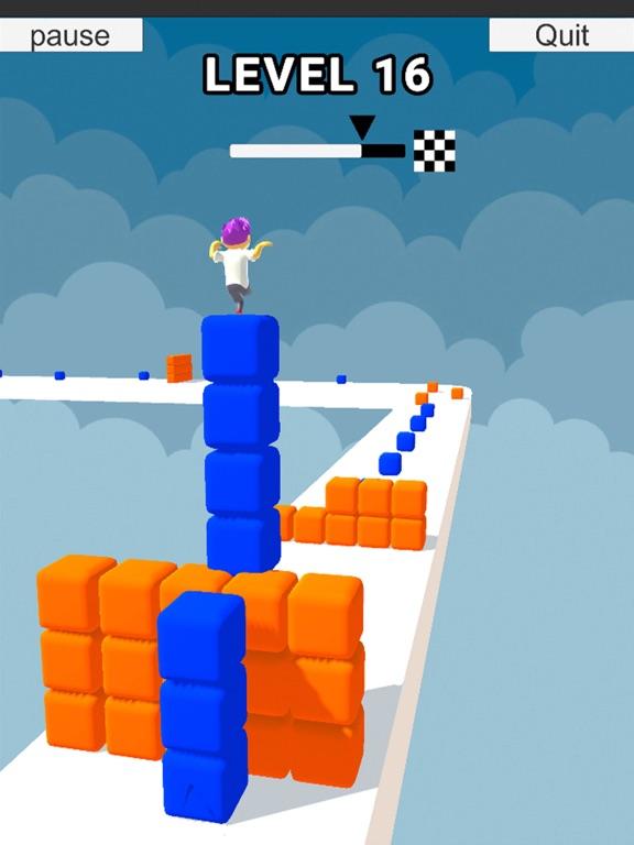 Cube Stacker Surfer 3D Run screenshot 5