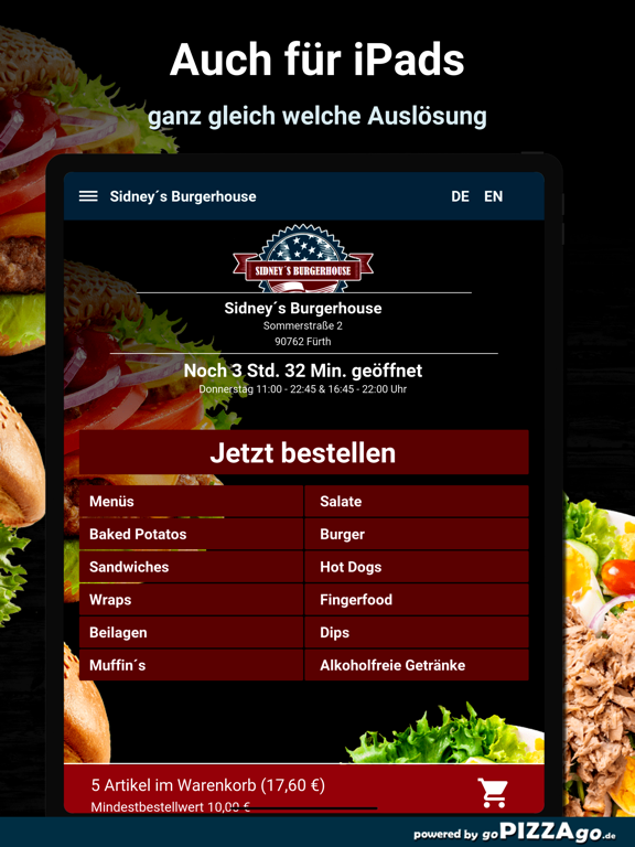 Sidney´s Burgerhouse Fürth screenshot 7