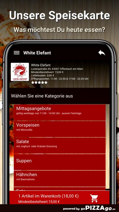White Elefant Offenbach Main screenshot 3
