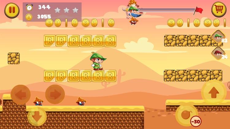 罗宾汉的森林世界-最佳经典平台游戏 screenshot-4