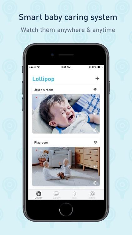 Lollipop - smart baby monitor screenshot-0