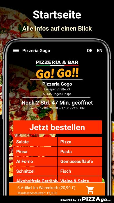 Pizzeria Gogo Hagen Haspe screenshot 2