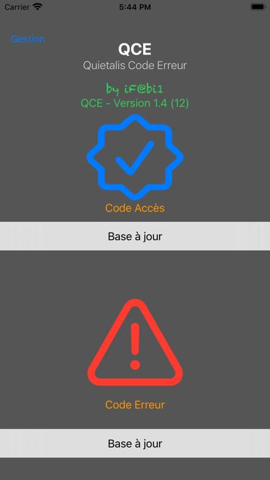 QCE Screenshot