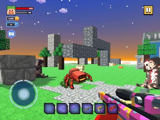 Fire Craft: 3D Pixel World screenshot 6