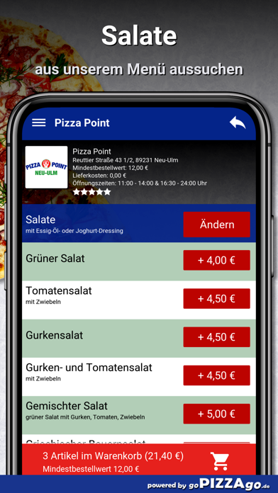 Point Neu-Ulm Pizza screenshot 5