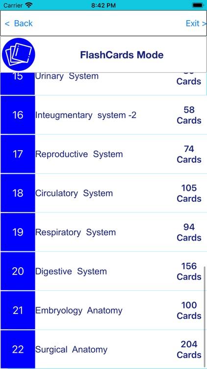 Anatomy & Physiology 22 topics screenshot-3