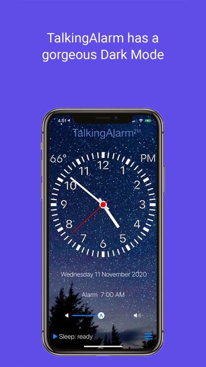 TalkingAlarm - alarm clock screenshot-3