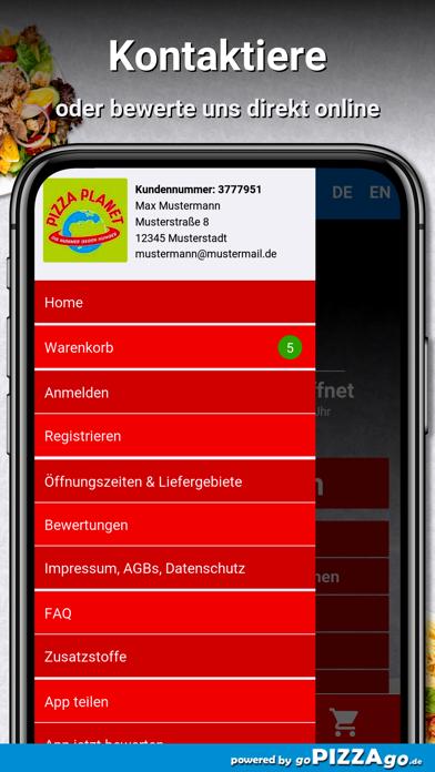 Pizza Planet Lieferservice screenshot 3