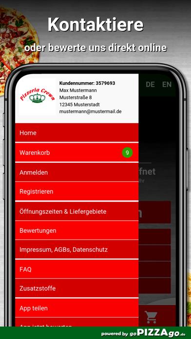 Pizzeria Crown Rüsselsheim screenshot 3