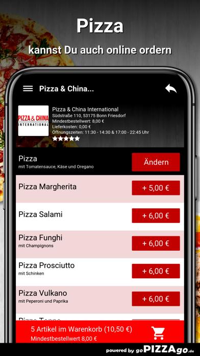 Pizza China Bonn Friesdorf screenshot 5