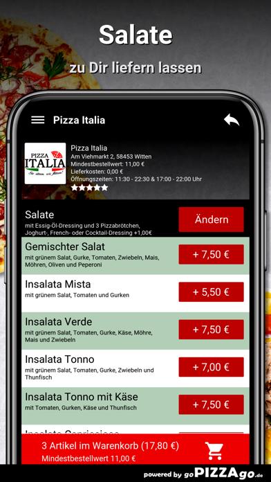 Pizza Italia Witten screenshot 5