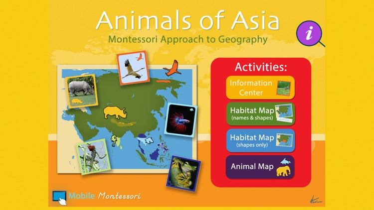 Montessori - Animals of Asia