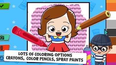 Baby Town : Kids Coloring Book screenshot 4