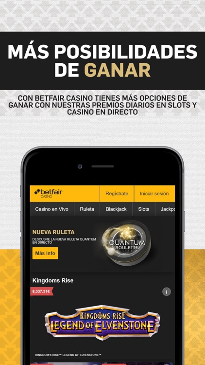 Betfair Casino: Ruleta, Slots… screenshot-1