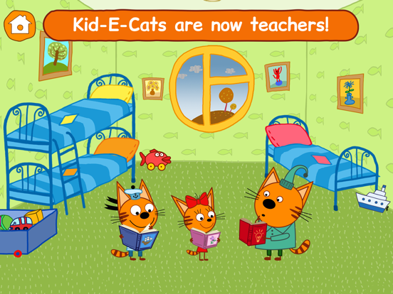 Ipad Screen Shot Kid-E-Cats: Little Kids Games! 0