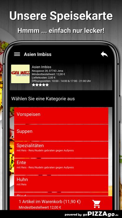 Asien Imbiss Jena Pizza screenshot 4