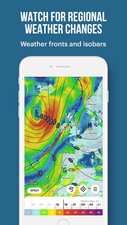 WindHub: forecast for sailing screenshot-4