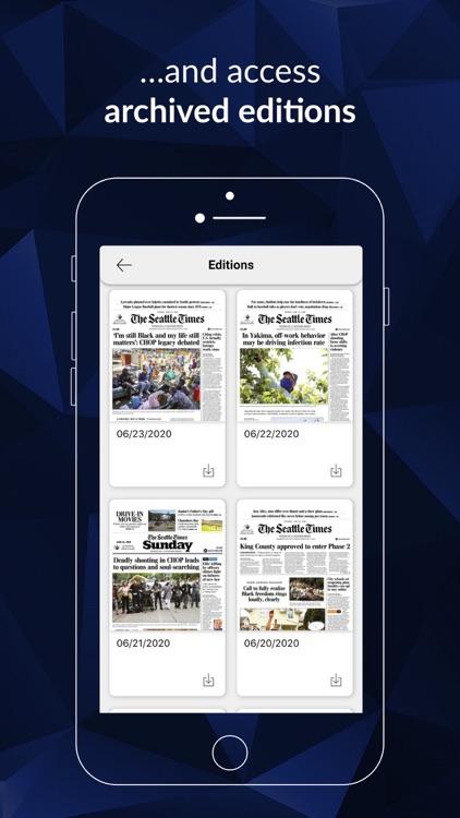 Seattle Times Print Replica screenshot-4