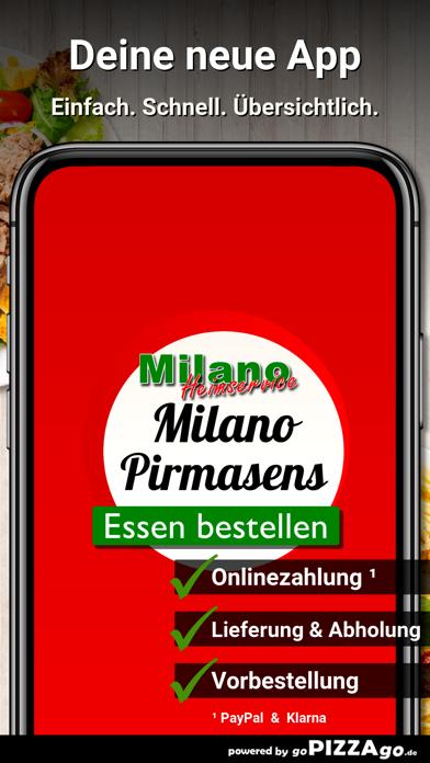 Heimservice Milano Pirmasens screenshot 1