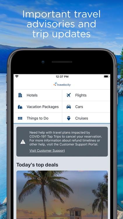 Travelocity Hotels & Flights screenshot-0